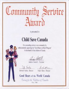 childsave-community-service-award